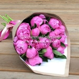 "Букет ""Beauty Blossoms"" (25 пионов)"